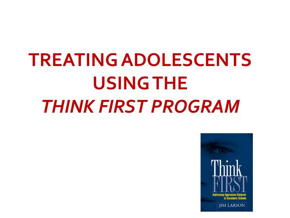 TREATING ADOLESCENTS USING THE
