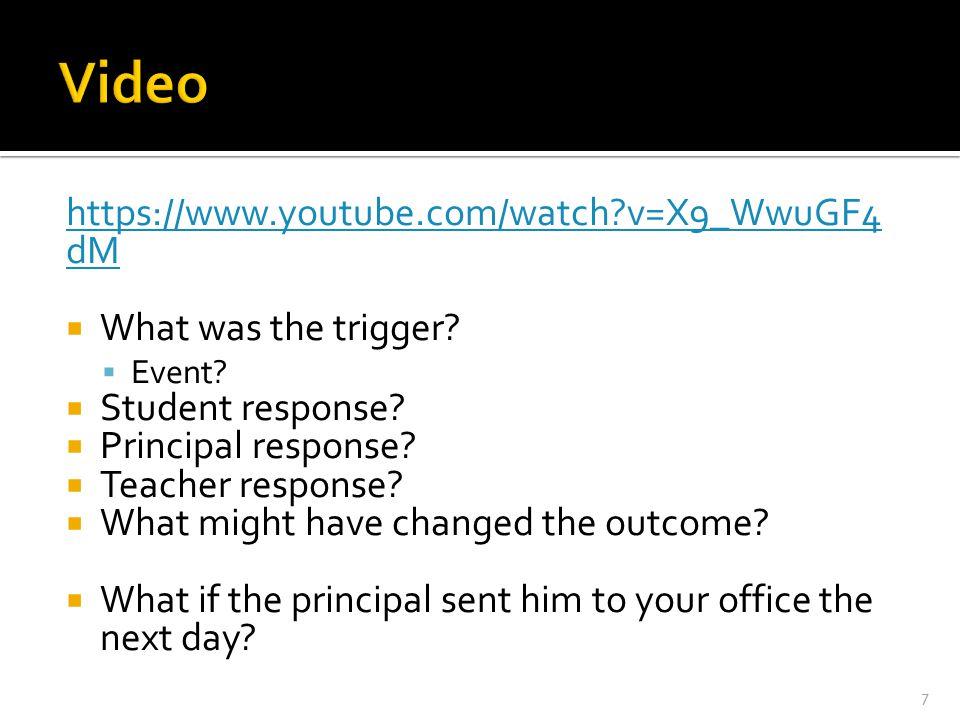 Video https://www.youtube.com/watch v=X9_WwuGF4dM
