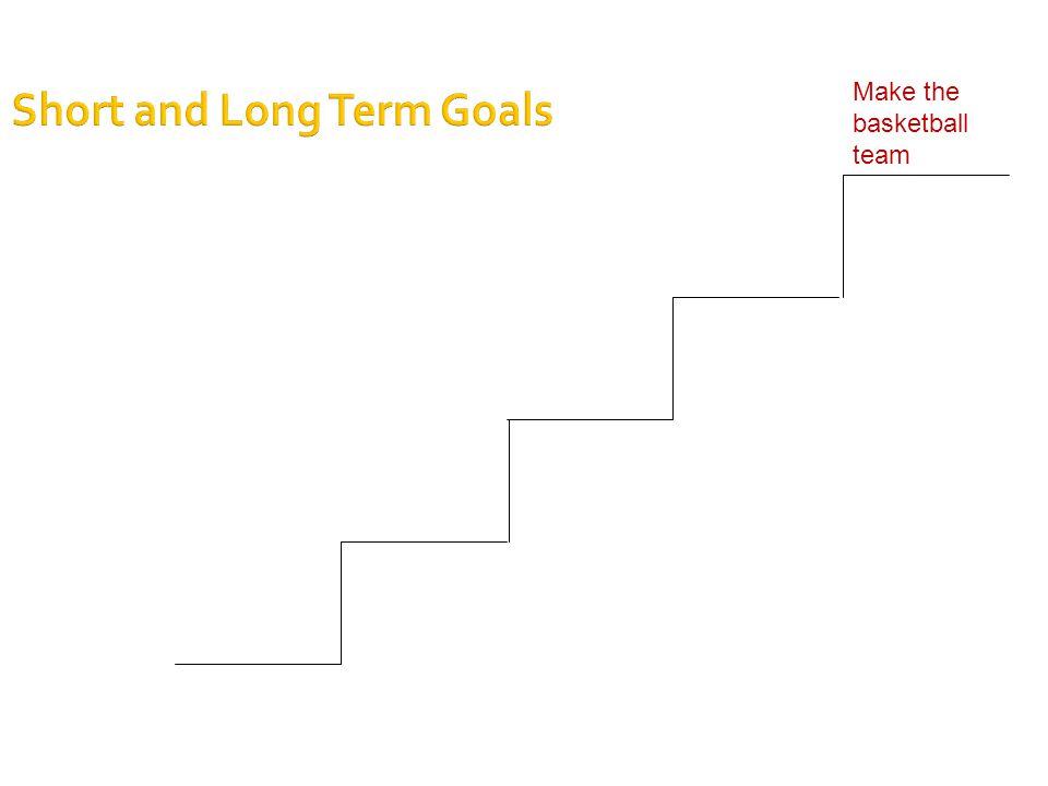 Short and Long Term Goals