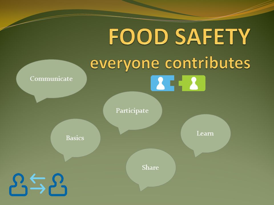 FOOD SAFETY everyone contributes