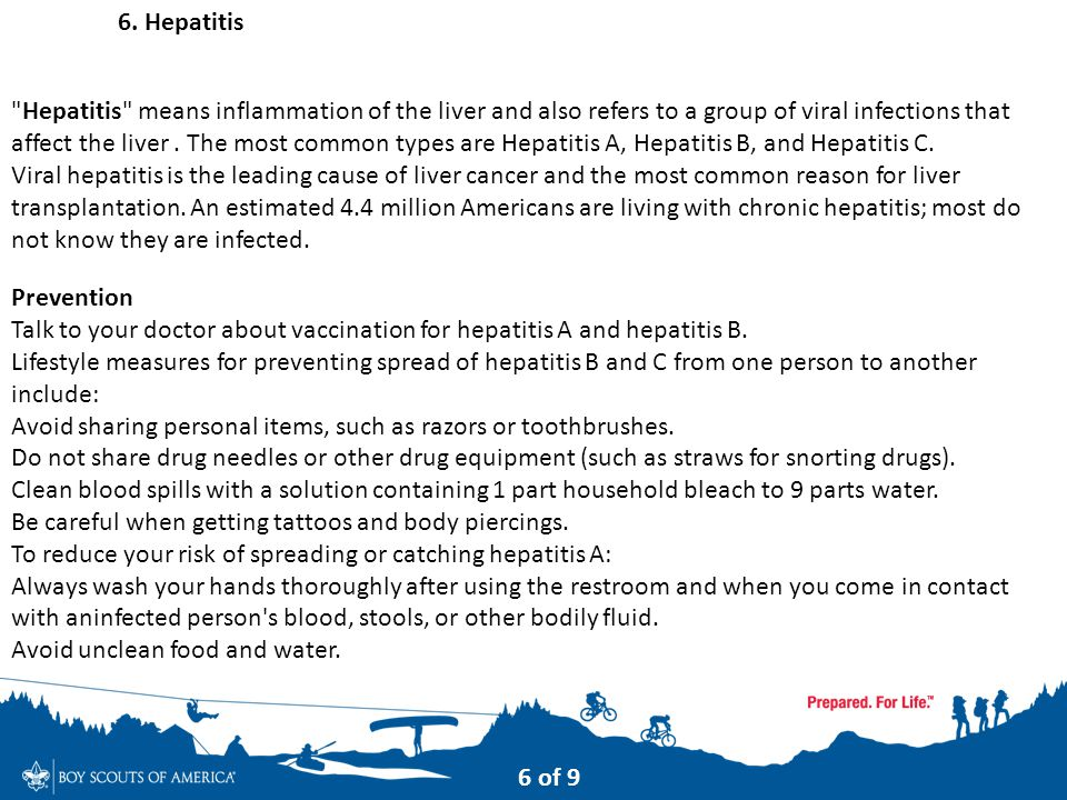 6. Hepatitis