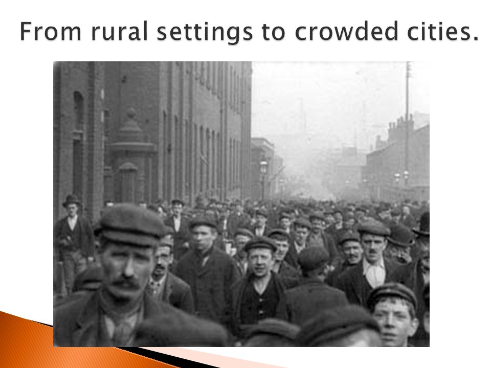 From rural settings to crowded cities.
