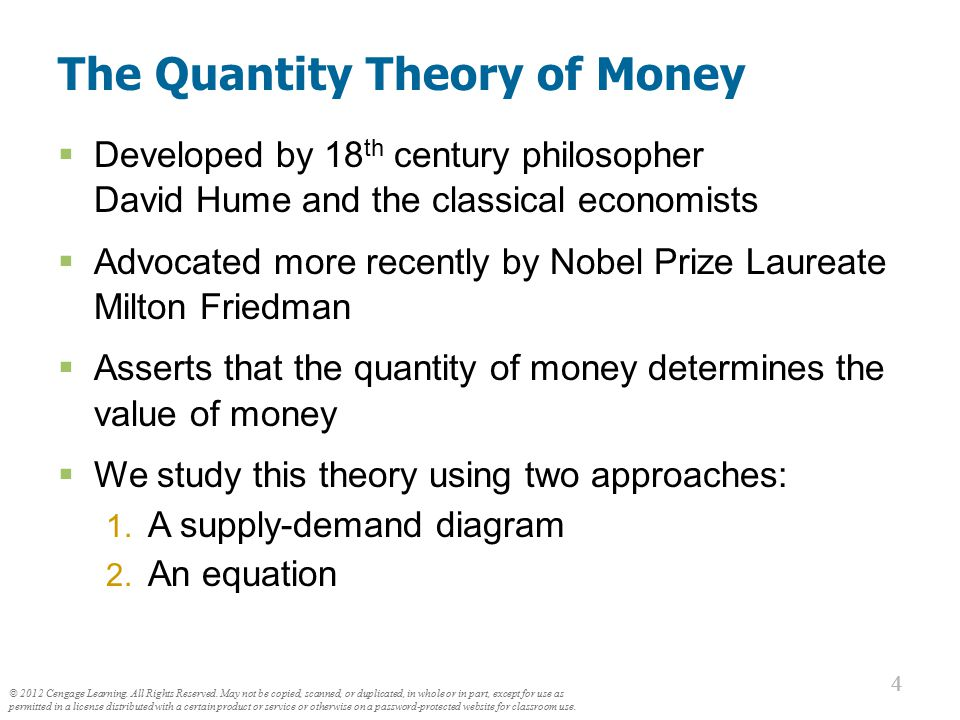 Money Supply (MS) In real world, determined by Federal Reserve, the banking system, consumers.