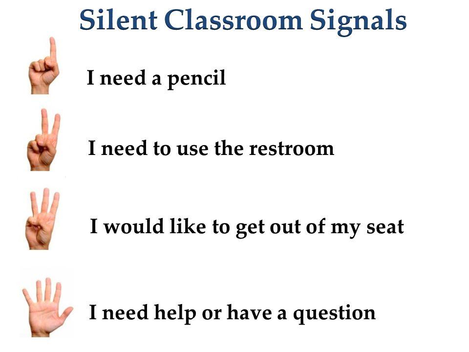 Silent Classroom Signals