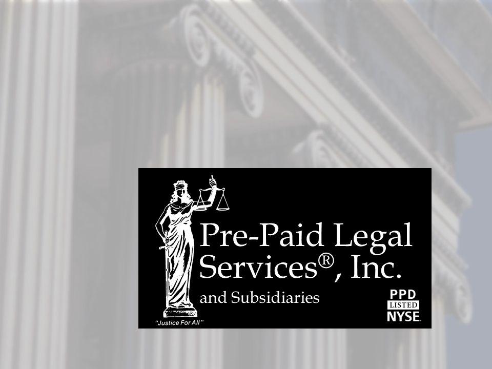 Pre-Paid Legal Services®, Inc.