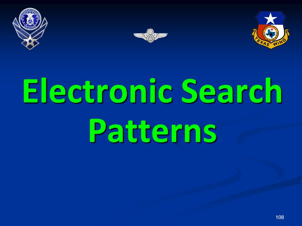 Electronic Search Patterns