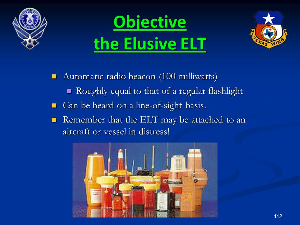Objective the Elusive ELT