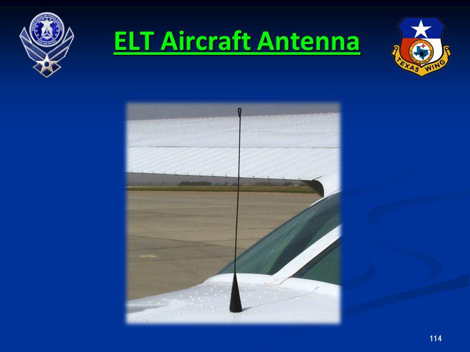 ELT Aircraft Antenna