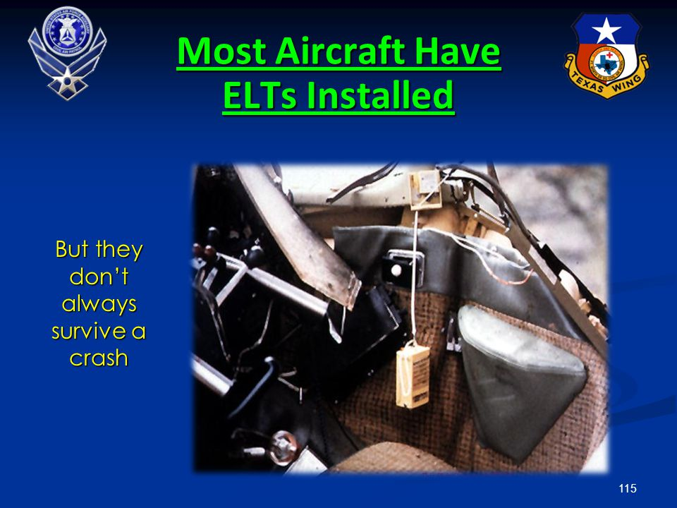 Most Aircraft Have ELTs Installed
