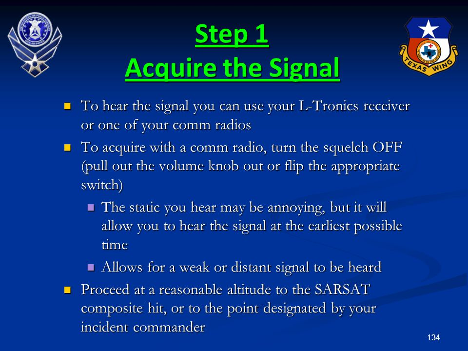 Step 1 Acquire the Signal