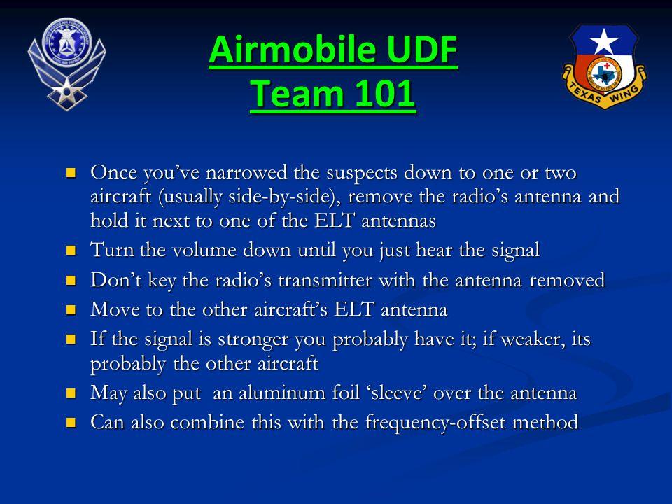 Airmobile UDF Team 101
