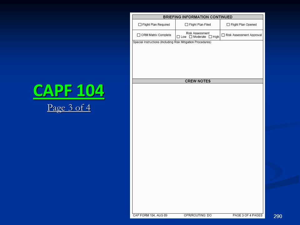 CAPF 104 Page 3 of 4