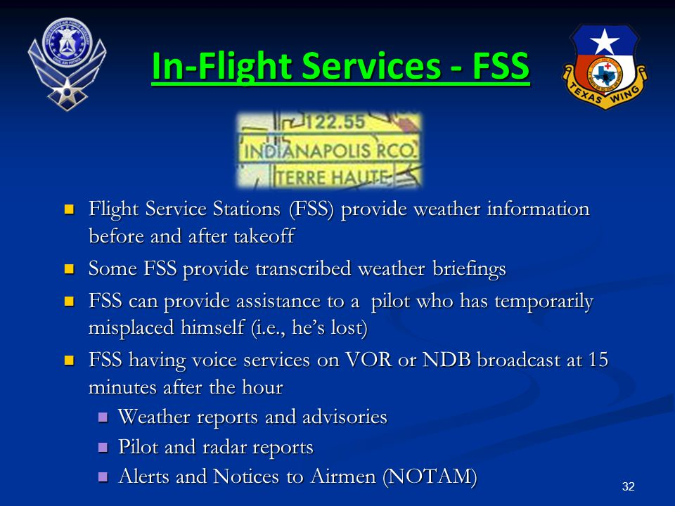 In-Flight Services - FSS