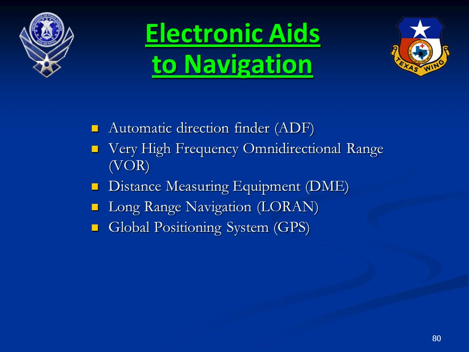 Electronic Aids to Navigation