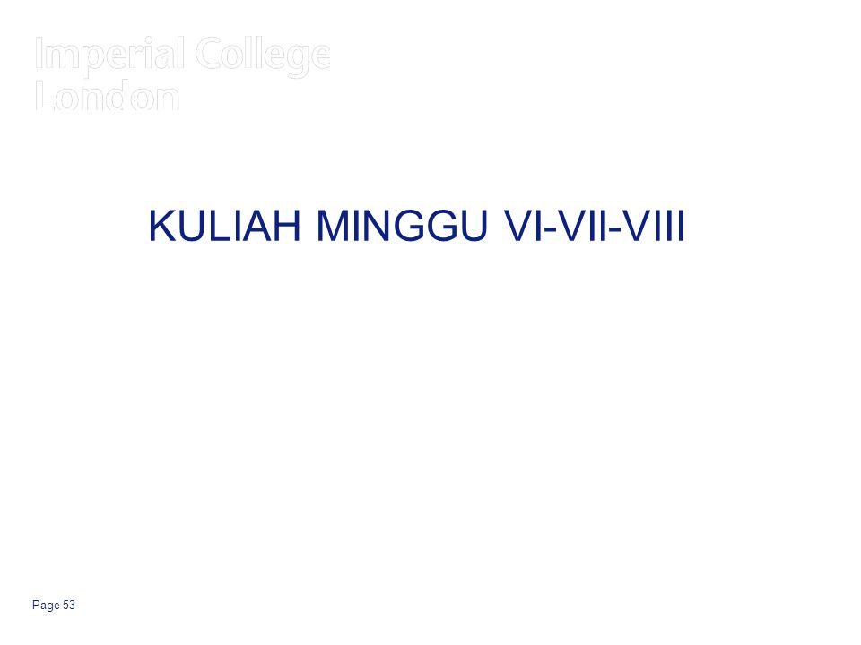 KULIAH MINGGU VI-VII-VIII