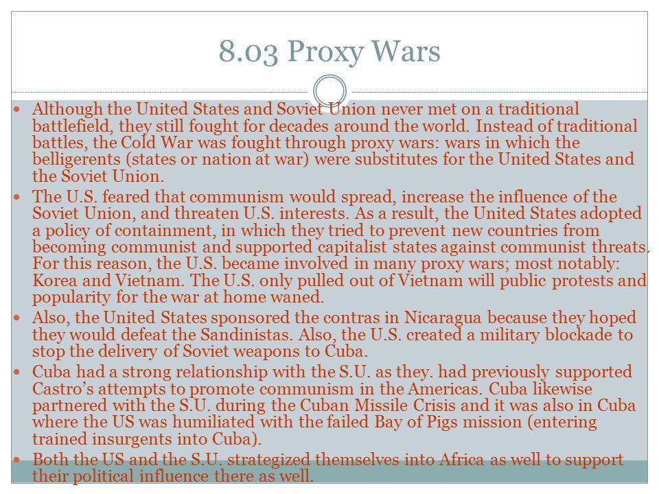 8.03 Proxy Wars