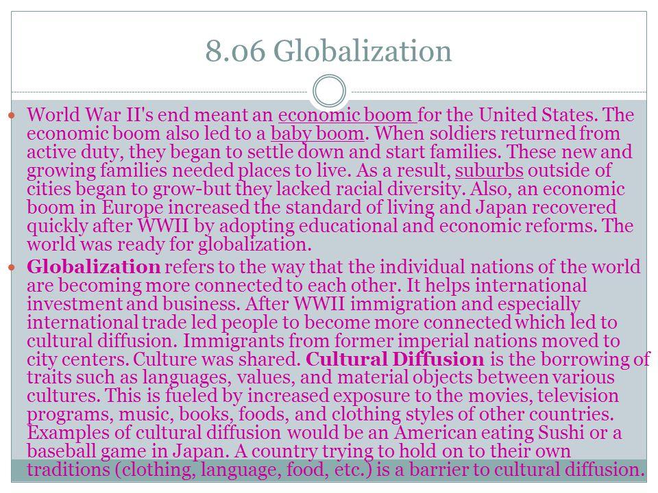 8.06 Globalization