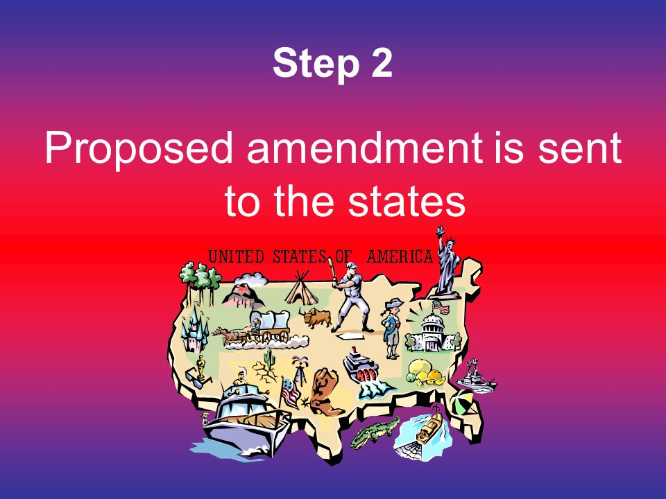 Proposed amendment is sent to the states