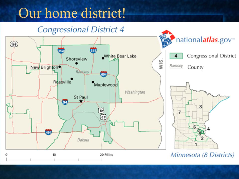 Our home district!