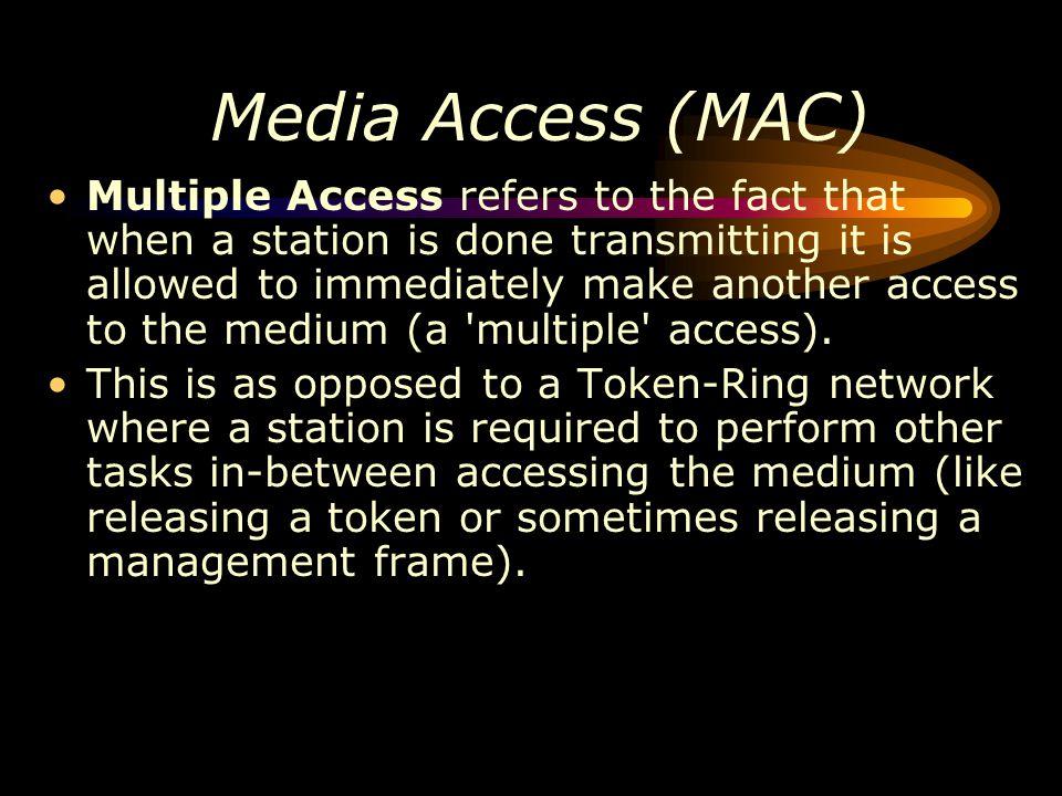 Media Access (MAC)