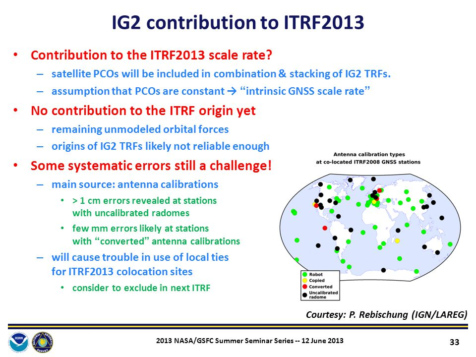 IG2 contribution to ITRF2013