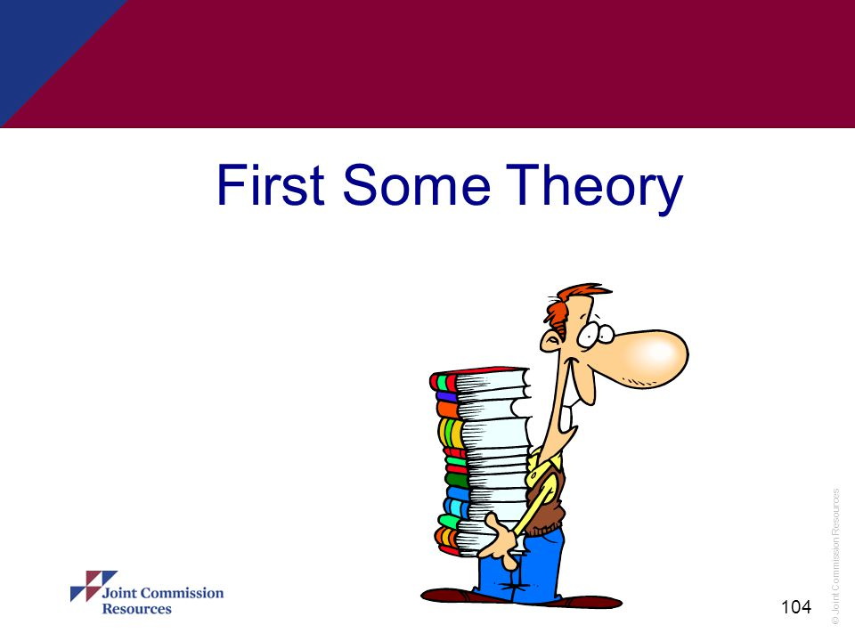 First Some Theory