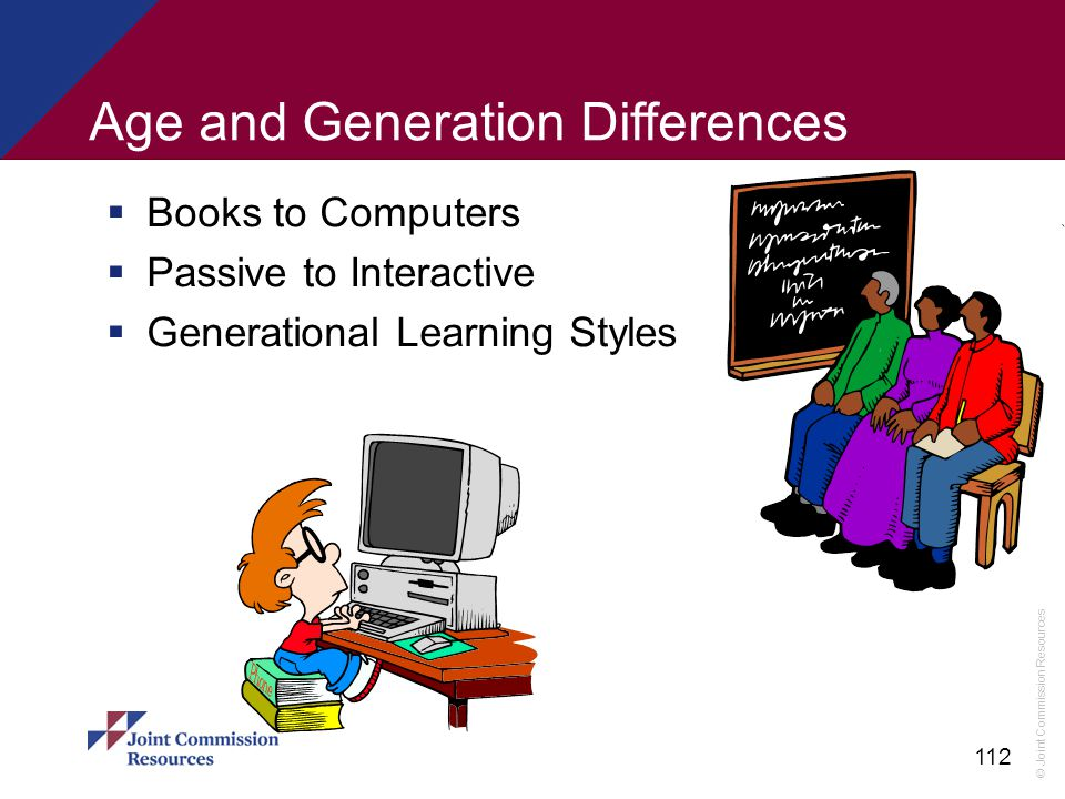 Age and Generation Differences