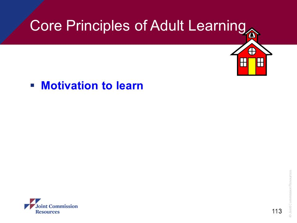 Core Principles of Adult Learning