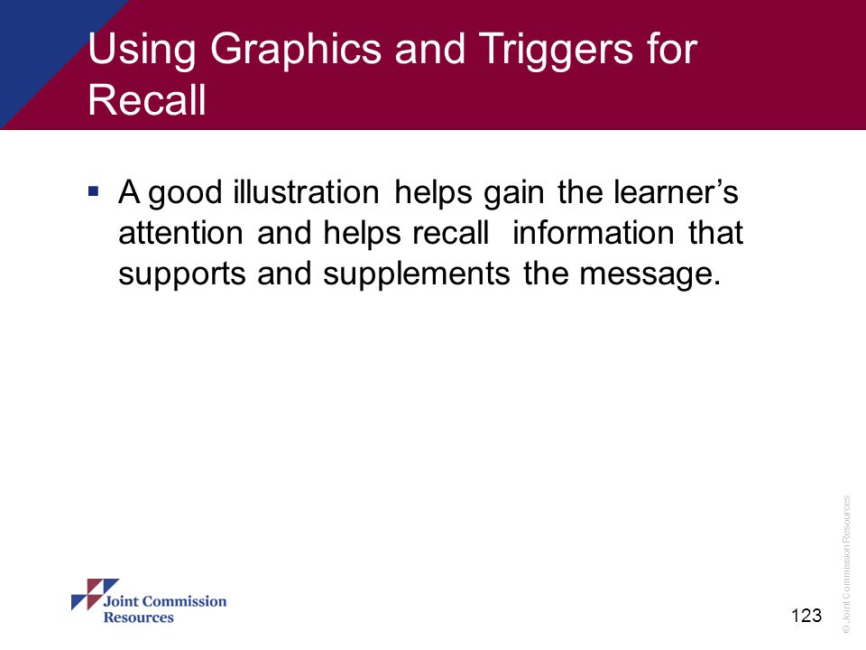Using Graphics and Triggers for Recall