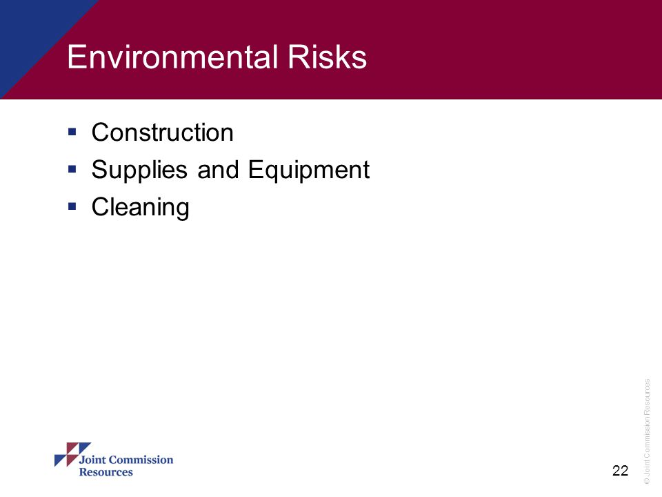 Environmental Risks Construction Supplies and Equipment Cleaning