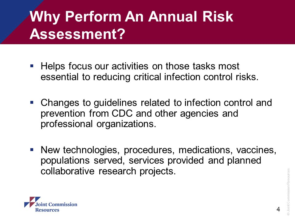 Why Perform An Annual Risk Assessment