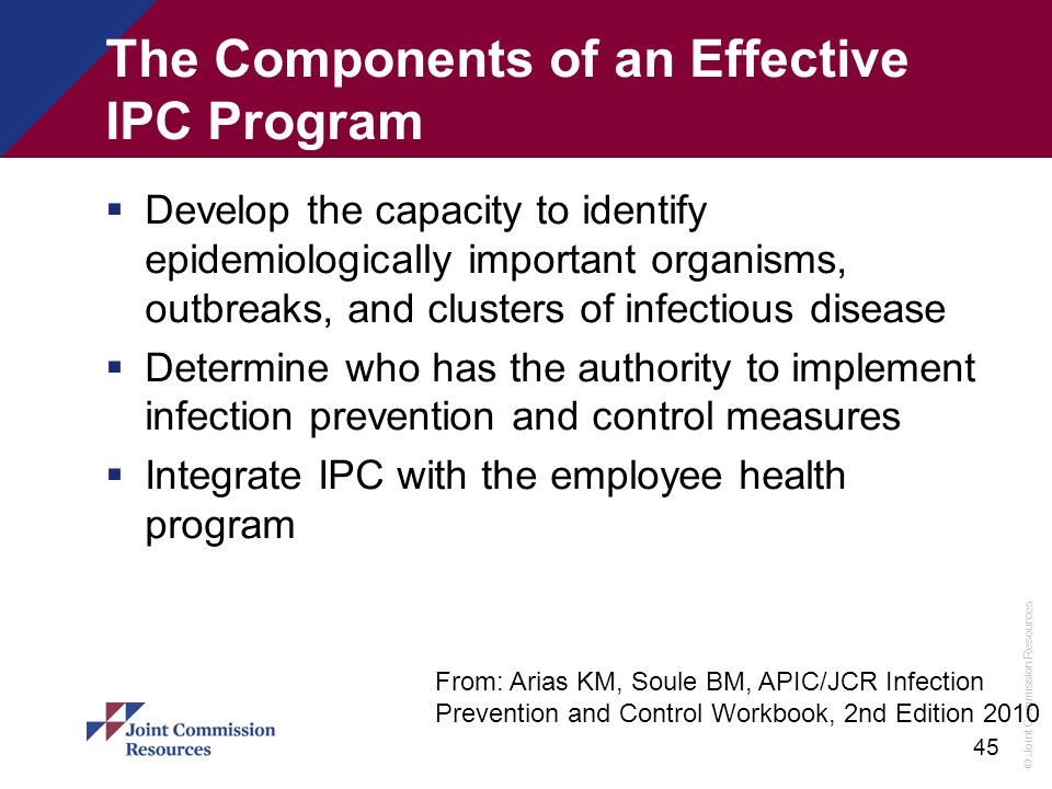 The Components of an Effective IPC Program