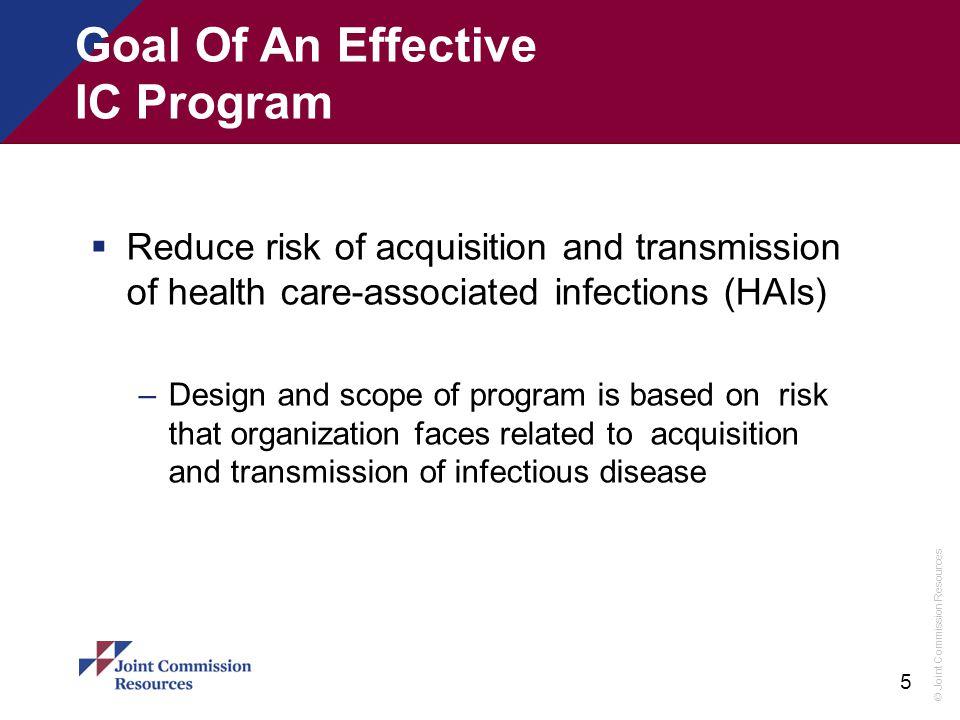 Goal Of An Effective IC Program