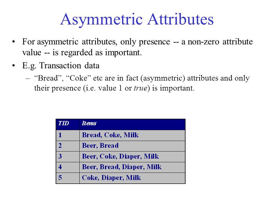Asymmetric Attributes
