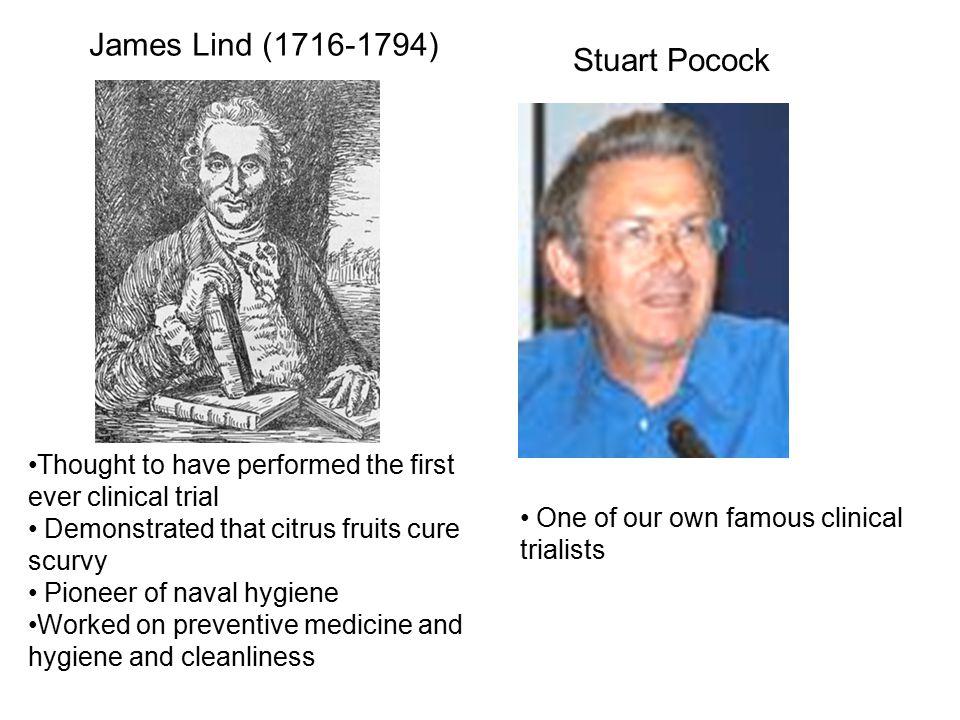 James Lind (1716-1794) Stuart Pocock