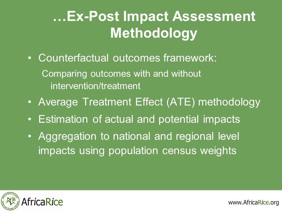 …Ex-Post Impact Assessment Methodology