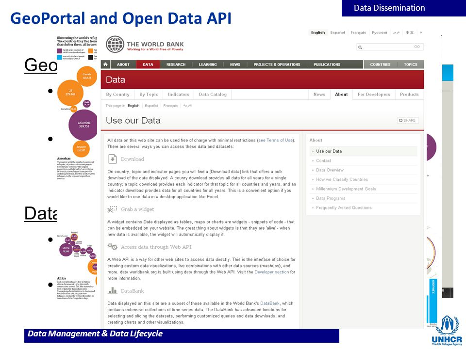 GeoPortal and Open Data API