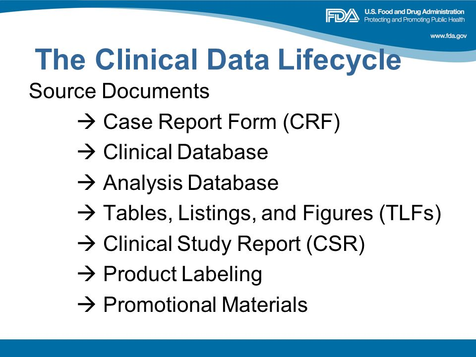 The Clinical Data Lifecycle