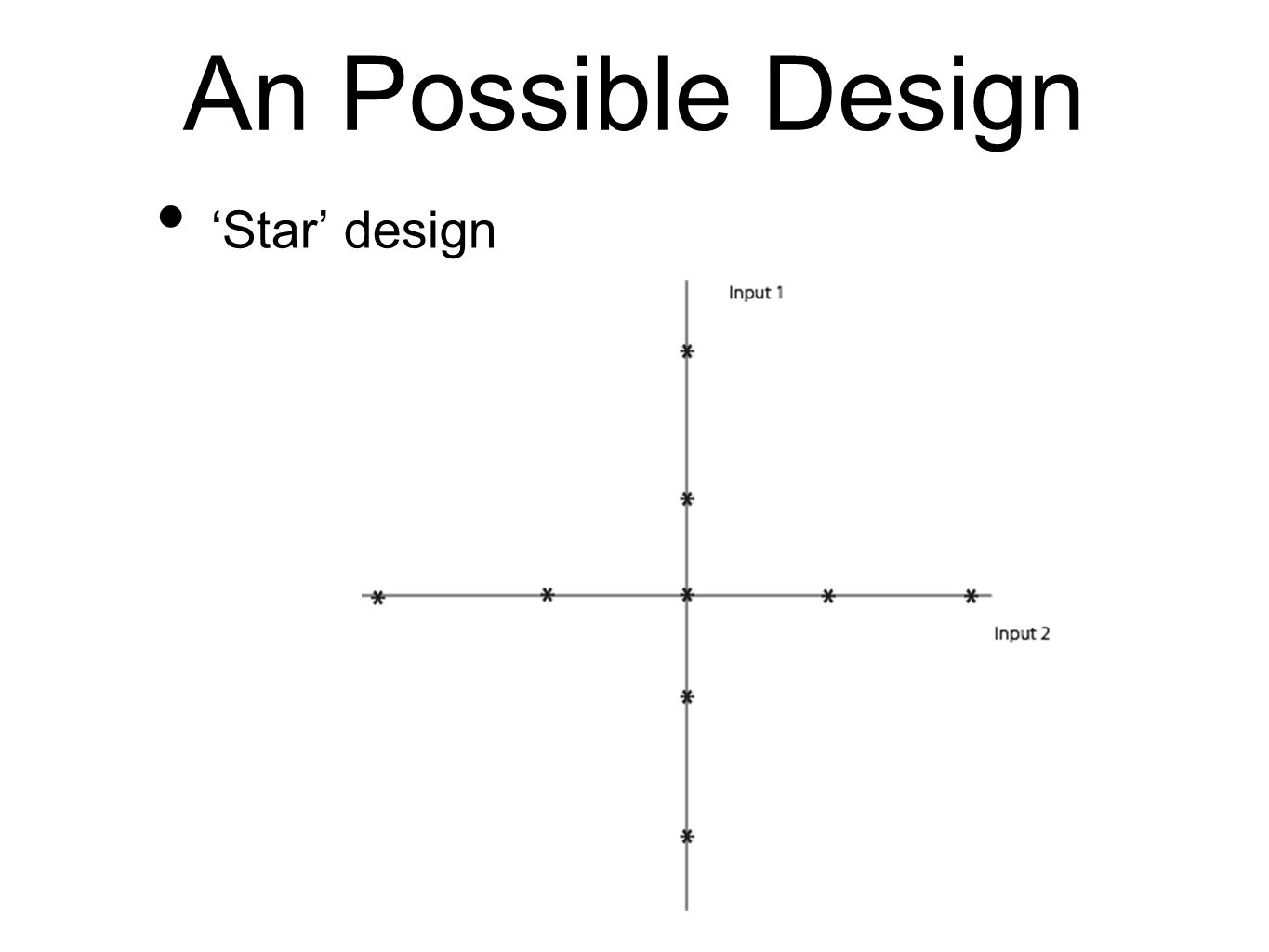 An Possible Design 'Star' design