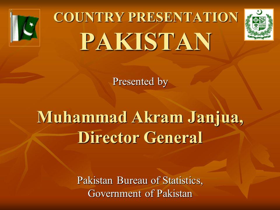 COUNTRY PRESENTATION PAKISTAN