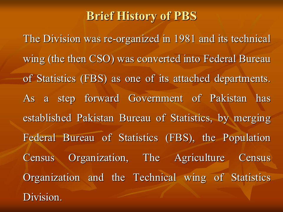 Brief History of PBS