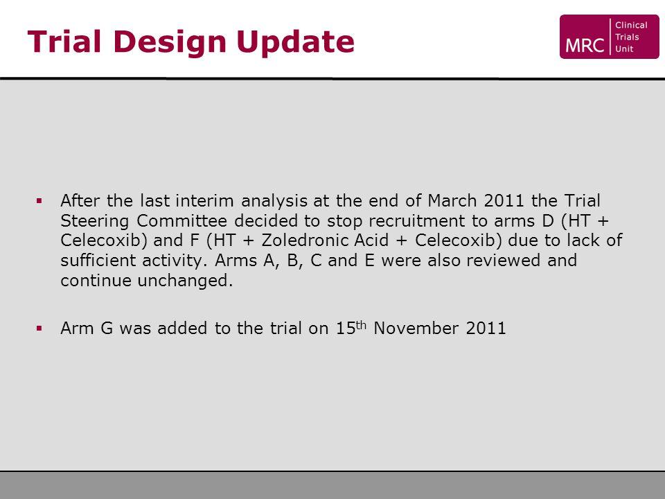 Trial Design Update