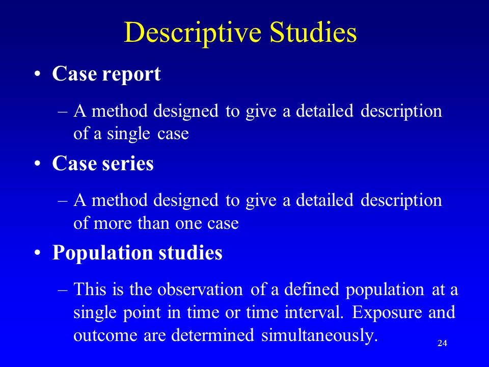 Difference Between Case Reports & Clinical Studies | Aquila