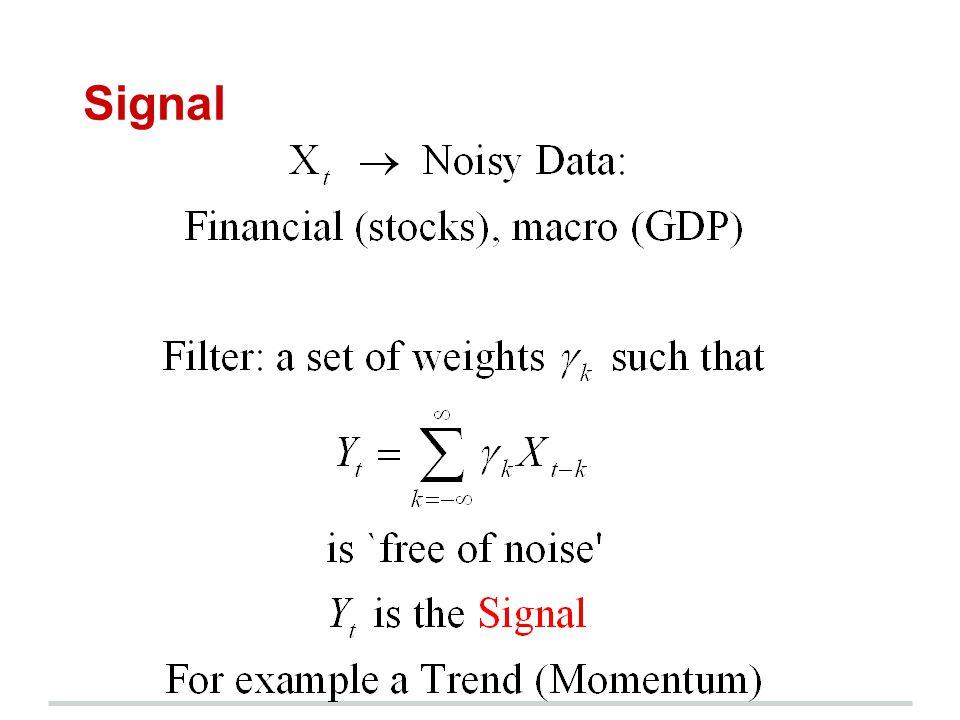 Signal Trend/SA