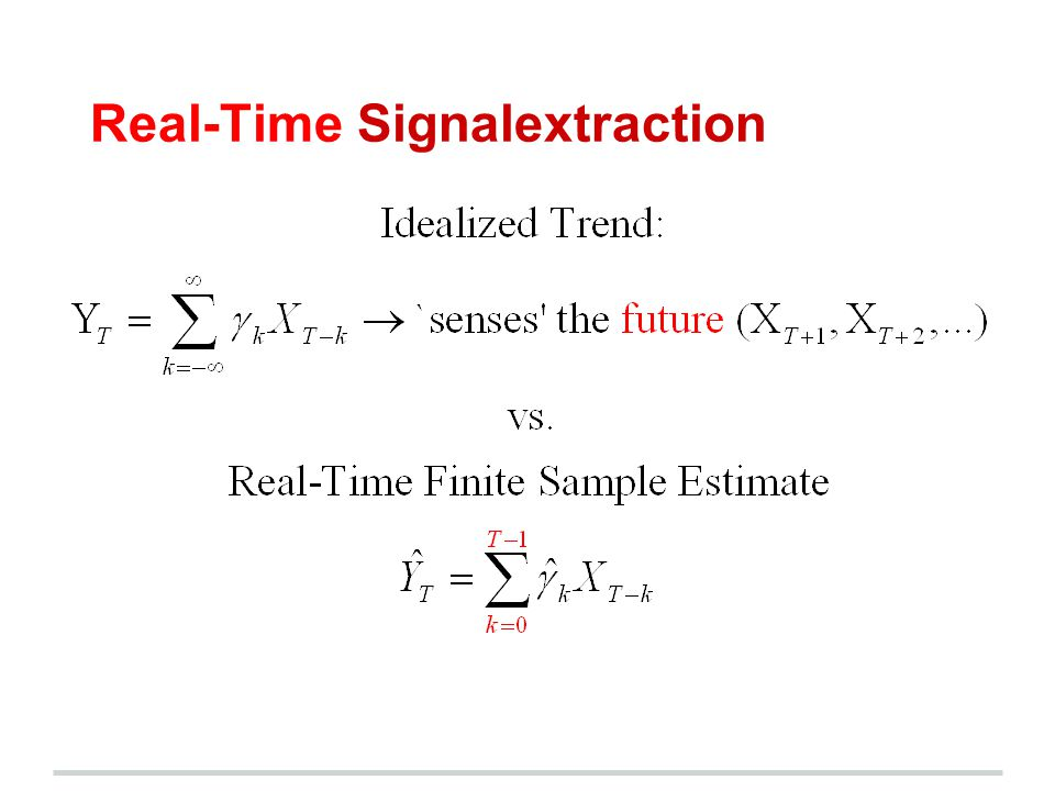Real-Time Signalextraction
