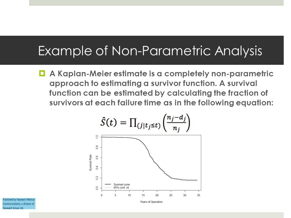 Example of Non-Parametric Analysis