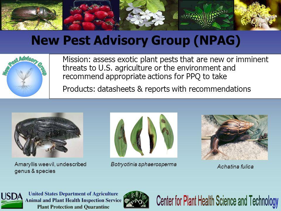 New Pest Advisory Group (NPAG)