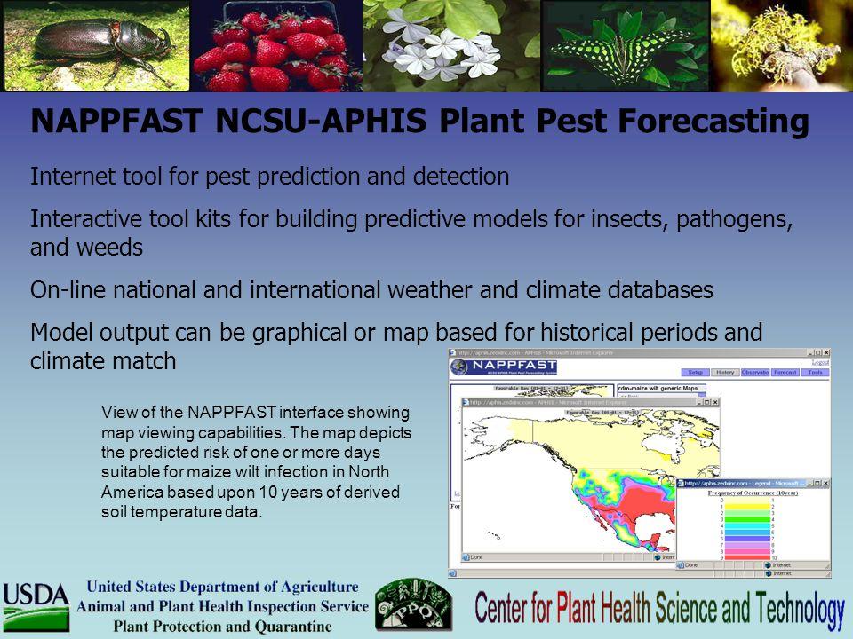 NAPPFAST NCSU-APHIS Plant Pest Forecasting