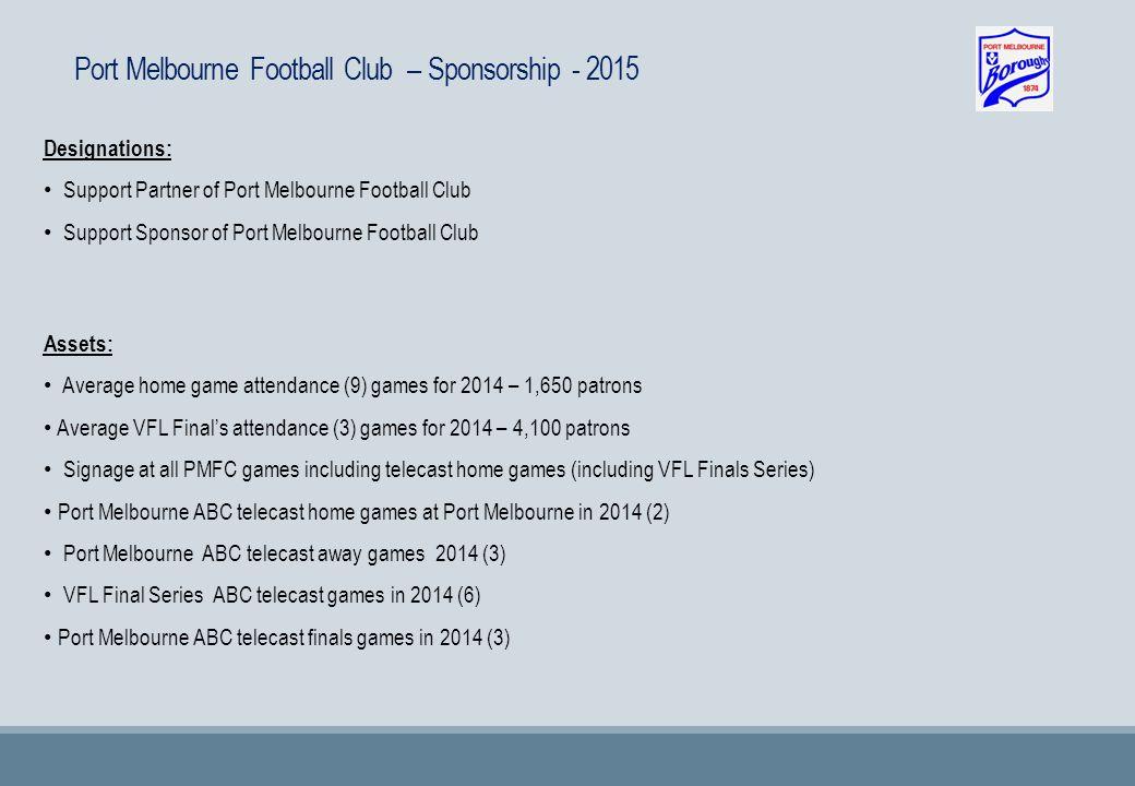 Port Melbourne Football Club – Media