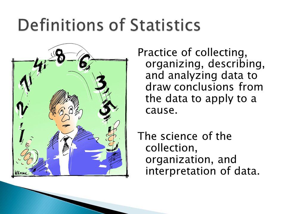 Definitions of Statistics